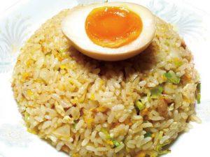煮卵チャーハン(拾丁目食堂)